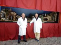Maestros de la Asociación de Belenistas de Alicante