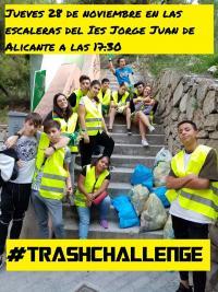 #Trash Challenge Alicante. Proyecto Edusi-Joven