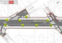 Plano arbolado calle Alcalde Suárez Llanos