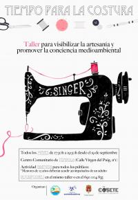 Taller Tiempo para la Costura en Tómbola 2019