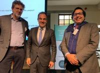 El edil de Coordinación de Proyectos y captación de fondos europeos, Antonio Peral, en Bruselas