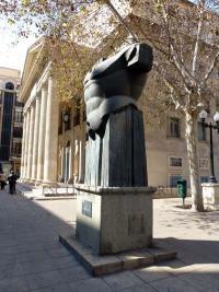 Imagen de la escultura 'El Torso de Agamenón II'