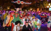 El concejal de Deportes, con compañeros de Corporación e integrantes de PayaSOSpital en la línea de salida