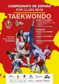 Cartel del campeonato de España por clubes