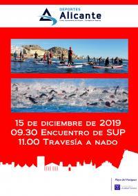 Travesía Navidad Playa del Postiguet 2019