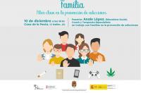 """CONFERENCIA: """"Familia: Pilar clave para la prevención de adicciones"""""""