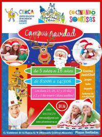Campus de Navidad 'Cocinando Sonrisas'