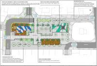 Imagen del proyecto de renovación de la Plaza Castellón
