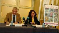 El concejal de Cultura, Antonio Manresa, y la subdirectora del Teatro Principal, María Dolores Padilla