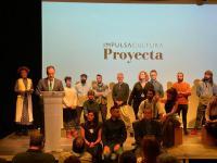 El concejal de Coordinación de Proyectos, Antonio Peral, en la clausura de la II edición de 'Impulsacultura Proyecta'