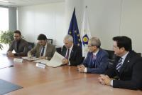 Firma un convenio Ayuntamiento y  EUIPO