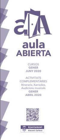 Aula Oberta 2020