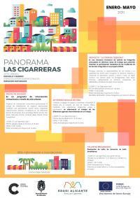 Panorama Las Cigarreras. Actividades de enero a mayo de 2020