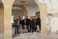 Los ediles de Coordinación de Proyectos, Antonio Peral, de Urbanismo, Adrián Santos, y de Cultura, Antonio Manresa han visitado las obras ubicada...