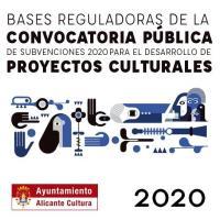 Imagen de la convocatoria pública de subvenciones para el desarrollo de proyectos culturales