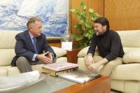 Reunión con el alcalde de Alicante, Luis Barcala