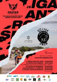 Cartel de la VII Liga Alicante Cross Series