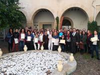 El concejal de Coordinación de Proyectos, Antonio Peral, en la entrega de diplomas