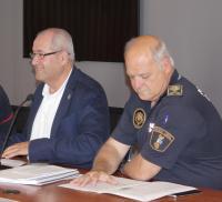 El concejal de Seguridad del Ayuntamiento de Alicante, José Ramón González