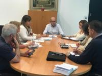 Reunión José Ramón González, concejal de Recursos Humanos