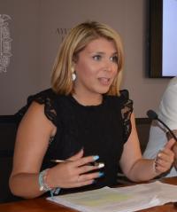 La vicealcaldesa, Mari Carmen Sánchez
