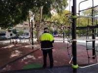 vallado de parques