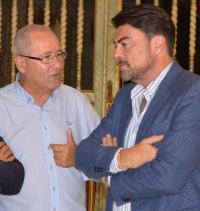 El Alcalde y el Concejal de Seguridad