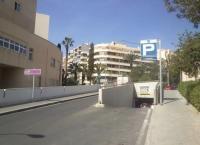Entrada al estacionamiento