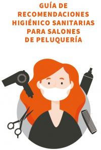 Peluquerías- recomendaciones higiénico sanitarias-desescalada_Covid19