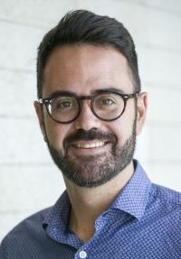 El concejal de Urbanismo, Adrián Santos