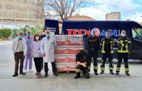 equipo de bomberos