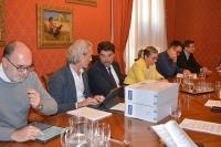 foto de archivo, reunión equipo de Gobierno