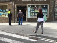 Dispositivo policial apertura de comercios