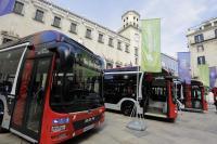 Imágenes de los autobuses de Alicante