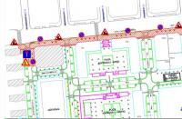 Plano cortes de tráfico Benalúa Sur