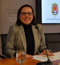 La concejala de Igualdad, María Conejero