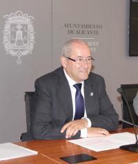 El edil de Infraestructuras, José Ramón González