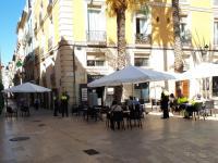 terrazas del centro de Alicante