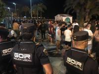 Agentes de la Policía Local de Alicante