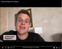 El rapero Arkano en el vídeo que invita a participar en la Ofrenda Solidaria del lunes 22 de junio