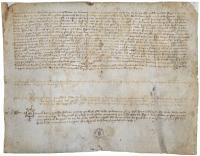 Pergamino Jaime II 1296