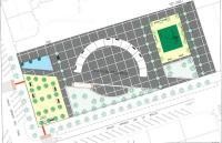 Plano de la Plaza del Progreso