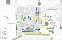 plano peatonalización