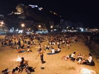 Noche de San Juan, foto de archivo
