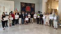 El Ayuntamiento de Alicante entrega a nueve asociaciones sin ánimo de lucro 10.400€ de los beneficios del Carnaval Solidario 2020