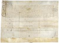 Privilegio Real de Fernando el Católico.