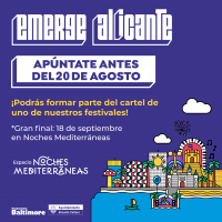 Cartel Emerge Alicante