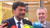 Primera reunión del alcalde de Alicante con el presidente de la Autoridad Portuaria