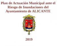 Carátula del Plan de Actuación Municipal ante el Riesgo de Inundaciones