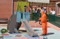 Dispositivo de limpieza implementado por el Ayuntamiento para este curso escolar